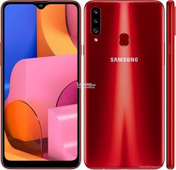 Samsung Galaxy A20s (4G, 3GB RAM, 32GB ROM,Red) with Official Warranty