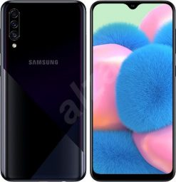 Samsung Galaxy A30s (4G, 4GB RAM, 128GB ROM,Crush Black) With Official Warranty