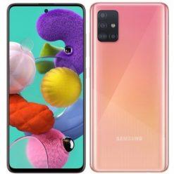 Samsung Galaxy A51 Dual Sim (4G, 6GB, 128GB, Pink) With Official Warranty