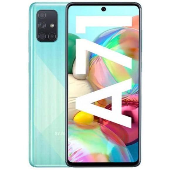 Samsung Galaxy A71 Dual Sim (4G, 8GB, 128GB, Crush Blue) With Official Warranty