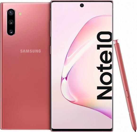 Samsung Galaxy Note 10 Dual Sim (4G, 8GB RAM, 256GB ROM,Aura Pink) - Non PTA