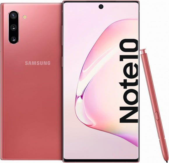 Samsung Galaxy Note 10 Dual Sim (4G, 8GB RAM, 256GB ROM,Aura Pink) - PTA Approved
