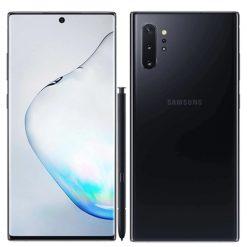 Samsung Galaxy Note 10 Plus Dual Sim (4G, 12GB RAM, 256 ROM,Aura Black) With Official Warranty