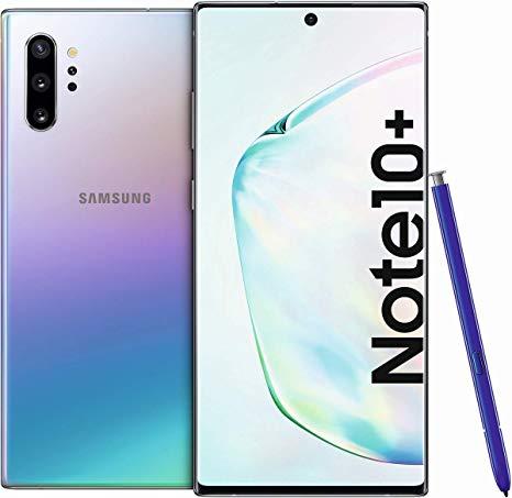 Samsung Galaxy Note 10 Plus Dual Sim (4G, 12GB RAM, 256 ROM,Aura Glow) - Non PTA