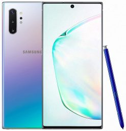 Samsung Galaxy Note 10 Plus Dual Sim (4G, 12GB RAM, 256GB ROM,Aura Glow) - PTA Approved