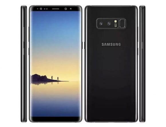 Samsung Galaxy Note 8 Single Sim (4G, 6GB RAM, 64GB ROM, Midnight Black) - PTA Approved