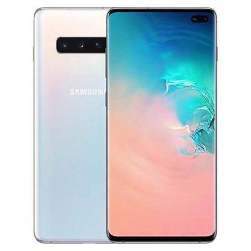 Samsung Galaxy S10 Plus Dual Sim(4G, 8GB RAM, 128GB ROM,White) With Official Warranty