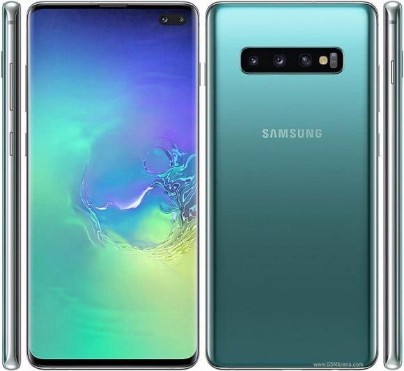 Samsung Galaxy S10 Plus Single Sim (4G, 8GB RAM, 128GB ROM,Green) - PTA Approved
