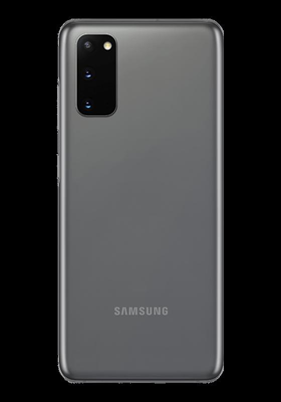 Samsung Galaxy S20 Dual Sim (4G, 8GB, 128GB, Cosmic Gray) With Official Warranty
