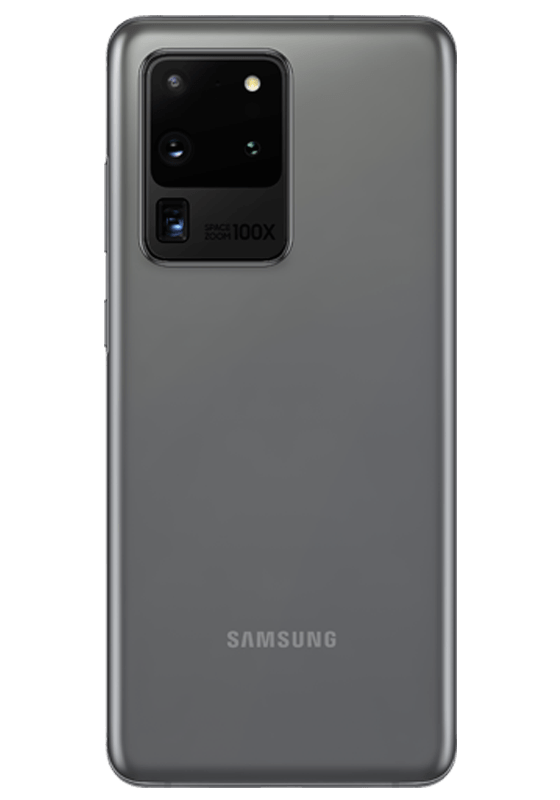 Samsung Galaxy S20 Ultra Dual Sim (5G, 12GB, 128GB,Cosmic Gray) - PTA Approved