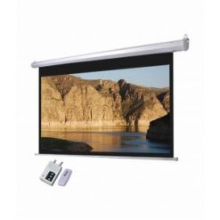 Screen 8'x6' Electric Motorised Wall Mount with Remote-in-Pakistan