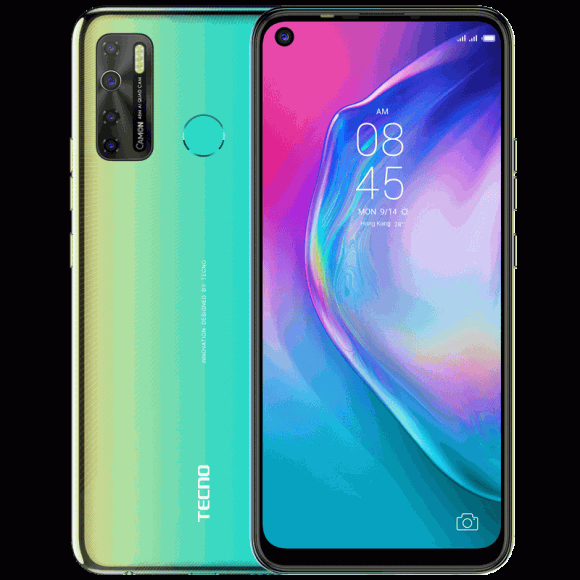 Tecno Camon 15 (4G, 4GB, 128GB,Shoal Gold) With Official Warranty