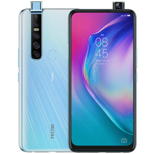 Tecno Camon 15 Pro (4G, 6GB, 128GB, Opal White) With Official Warranty