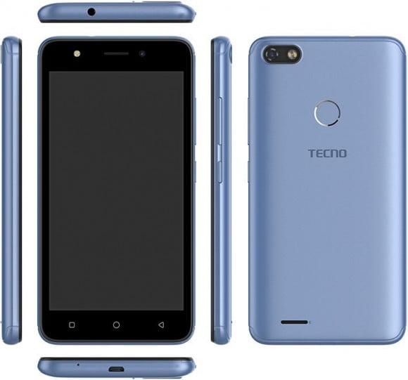 TECNO POP 2F Dual Sim (3G, 1GB RAM, 8GB ROM,Blue) With 1 Year Official Warranty