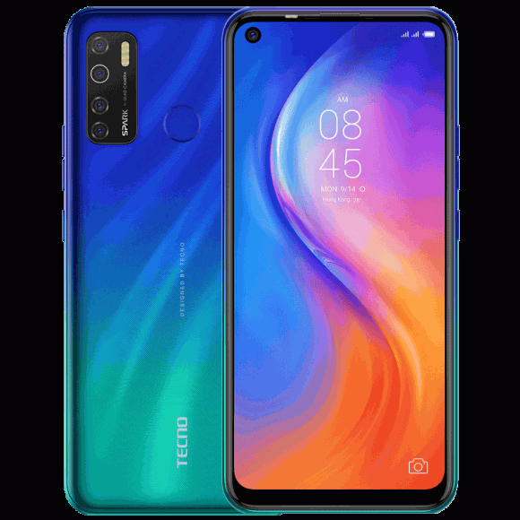 Tecno Spark 5 Pro (4G, 4GB 128GB Seabed Blue) With Official Waranty