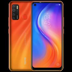 Tecno Spark 5 Pro (4G, 4GB 64GB Spark Orange) With Official Waranty