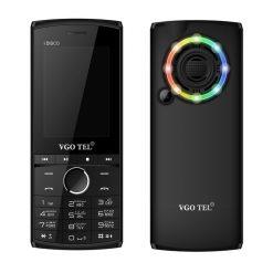 VGO TEL I Disco Black Green With Official Warranty