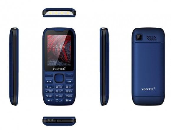 VGO TEL I404 Blue Black with Official Warranty