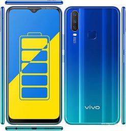 Vivo Y12 Dual Sim (4G, 3GB RAM, 64GB ROM,Aqua Blue) With 1 Year Official Warranty