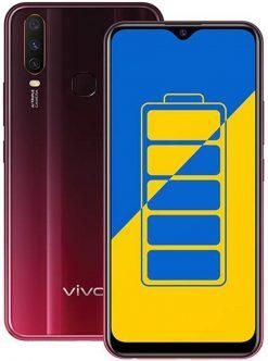 Vivo Y15 Dual Sim (4G, 4GB RAM, 64GB ROM,Red) With 1 Year Official Warranty