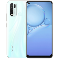 Vivo Y30 (4G 4GB 128GB Moonstone White) With Official Warranty