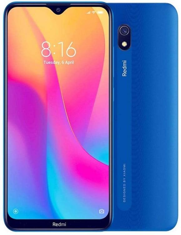Xiaomi Redmi 8A (4G,2GB RAM,32GB ROM, Blue) With Official Warranty