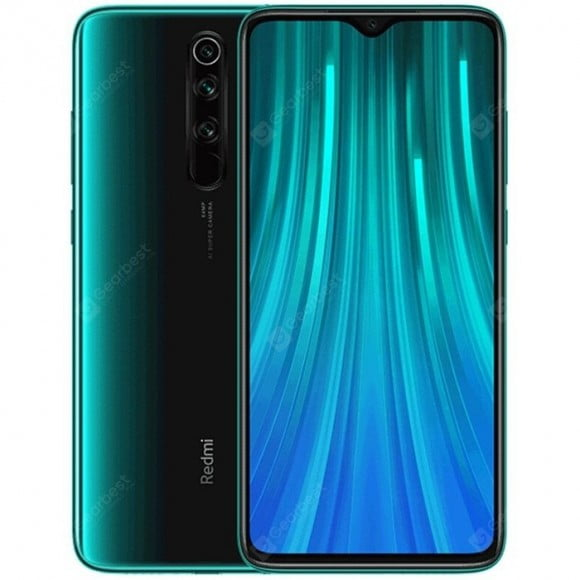 Xiaomi Redmi Note 8 Pro (4G, 6GB RAM, 128GB ROM, Forest Green) With 1 Year Official Warranty