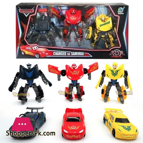2 in 1 Transformer Robots Car Toys