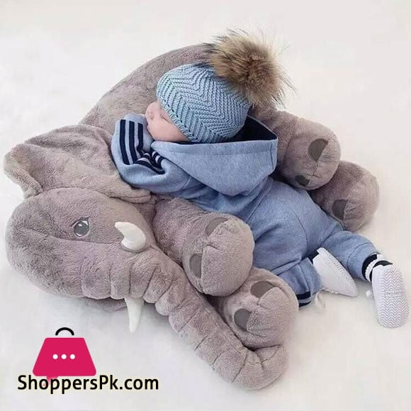 Baby Elephant Pillow Toddler Sleeping Elephant Stuffed Plush Pillows Soft Plush Stuff Toys