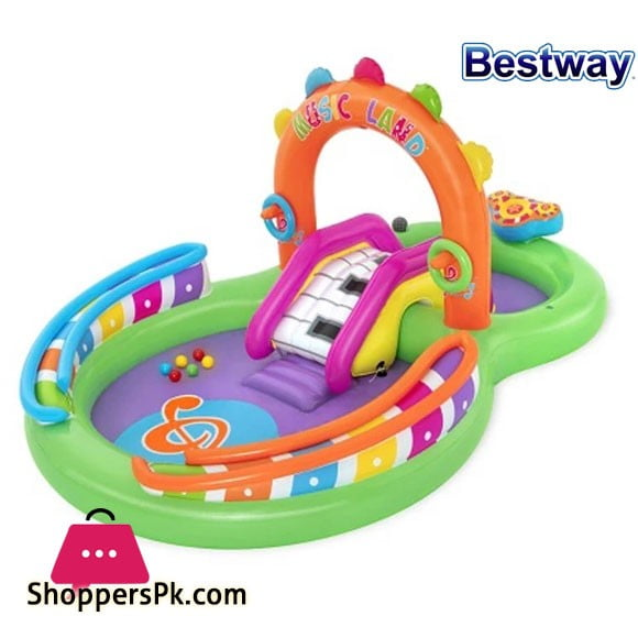 Bestway H2OGO Sing n Splash Inflatable Kids Water Play Center - #53117
