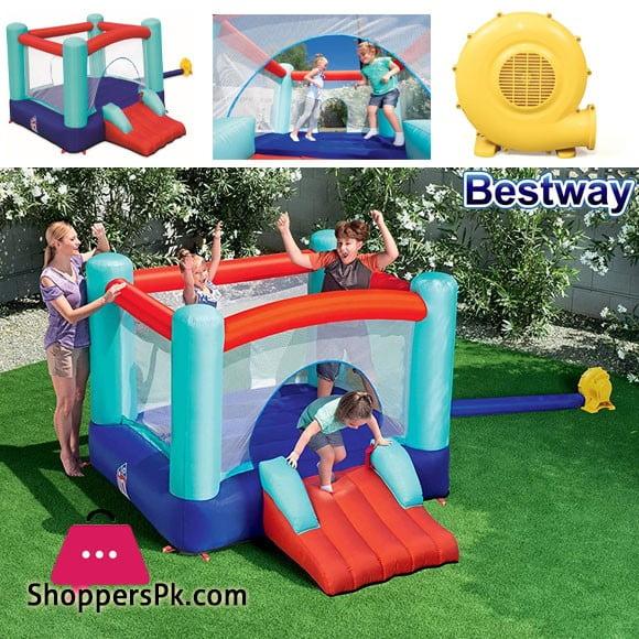 Bestway Inflatable Spring n Slide Park Jump-O-Lene #53310