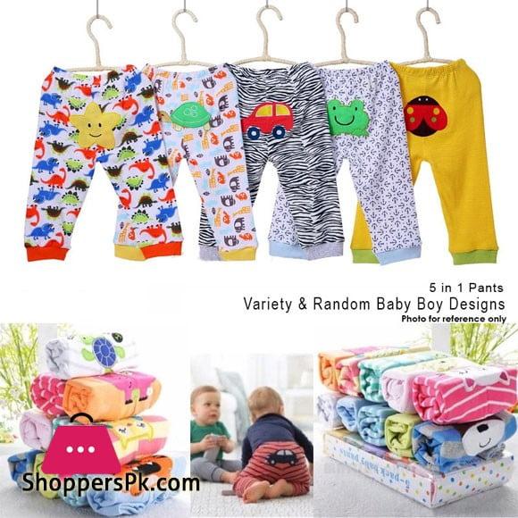 Carters Pajama Set Pack of 5 Baby Boy Pants Sleepwear Bottom Pajamas Kids Infant Set