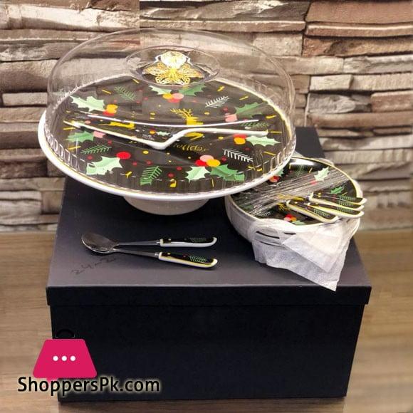 Ceramic Cake Serving Set 15 Pcs