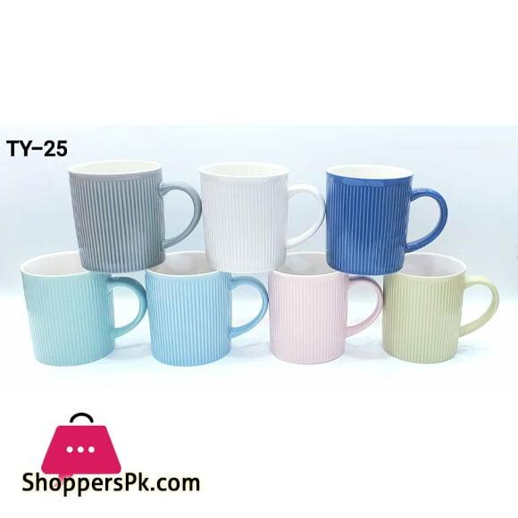 Set of 6 Coffee Tea Mug TY-25