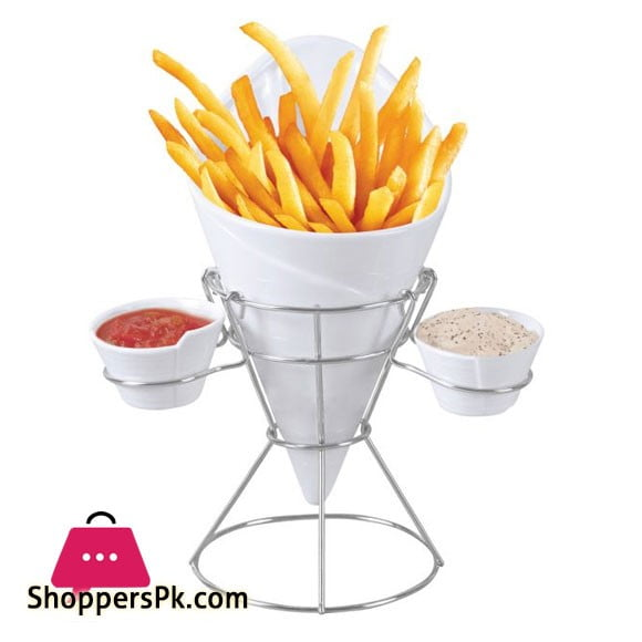 Gourmet Tableware French Fries Cup – 4 Pcs