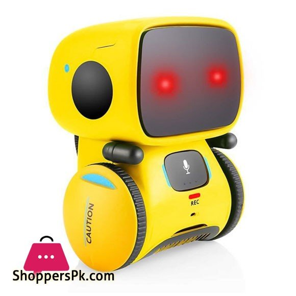 Intelligent Robot Dance Music Recording Dialogue Touch Sensitive Control for Children Interactive Toys Smart Robot for Children