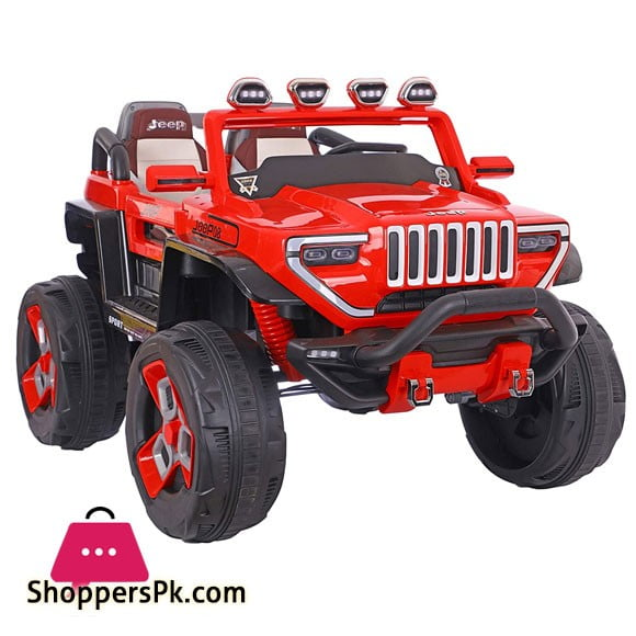 Kids Ride on Car Safari Jeep 4 x 4 with Remote for Kids (2 to 9 ) Years Kids