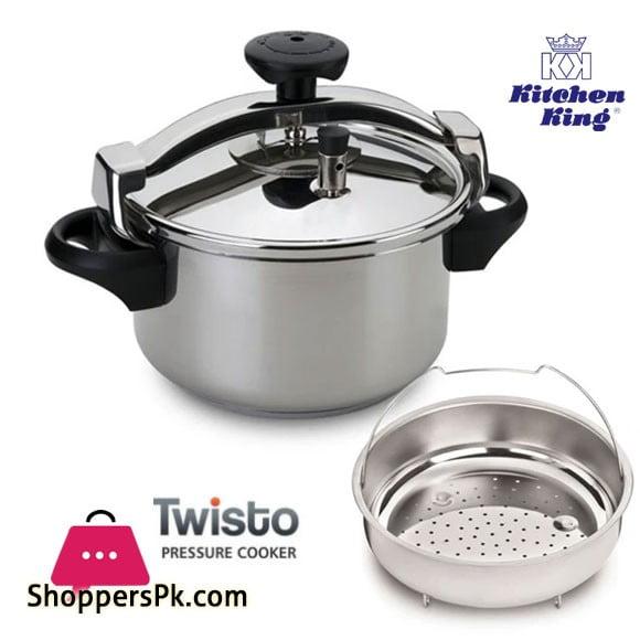 Kitchen King Preasure Cooker Twisto 5 - Liter
