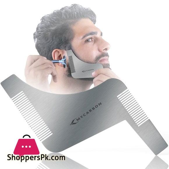 MYCARBON Stencil Care Beard Comb