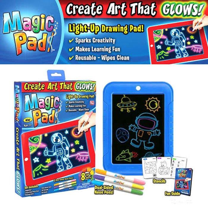Magic Pad, Illuminating Screen for Drawing, Sketching and Creating - As Seen on TV