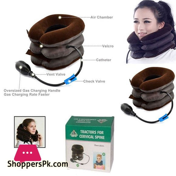 Neck Traction Inflatable Pillow