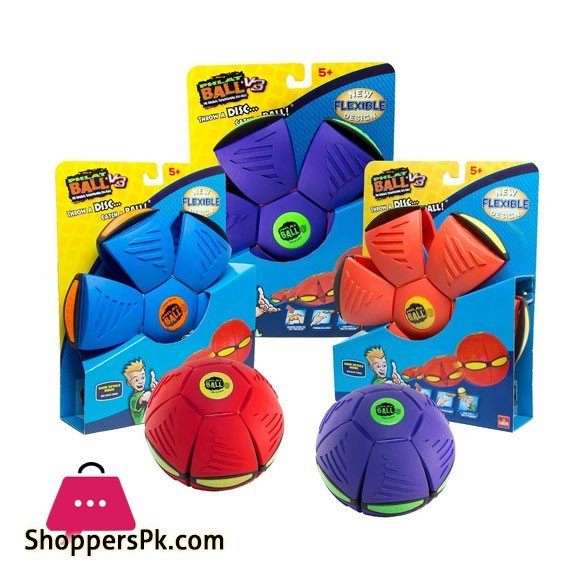 Phlat Ball Throw a Disc Catch a Ball