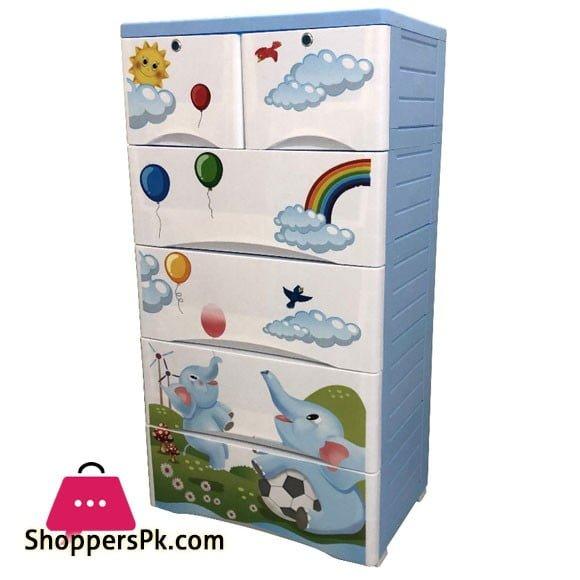 Plastic Drawers Cabinet Elephant Drawer 4+2