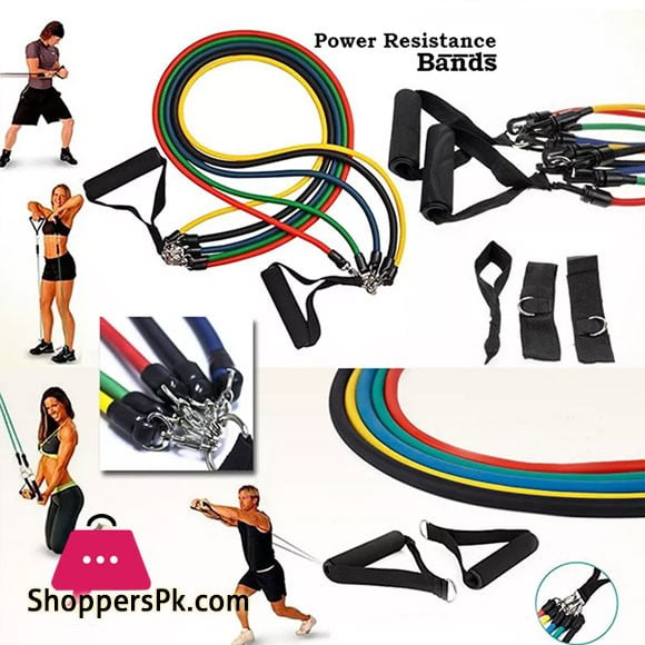 Power Resistance Bands Set - Home Gym Extreme