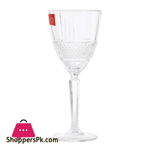 RCR Italian Crystal Wine Glasses 269670 Pack of 6