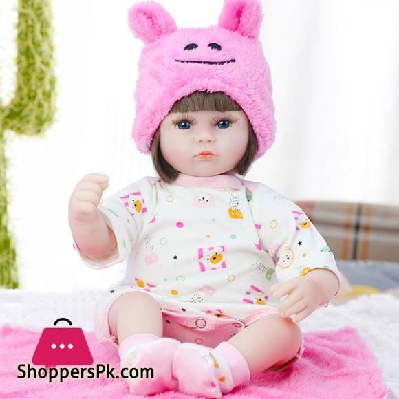 Silicone Vinyl Newborn Reborn Baby Doll Toy