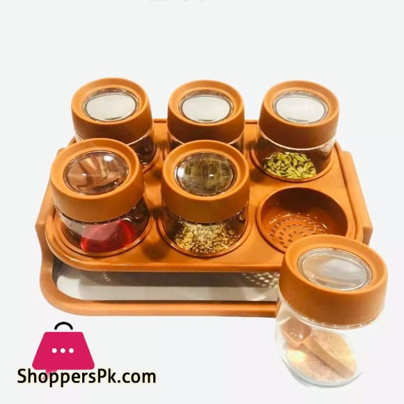 Spice Zone Magnifying Top Spice Rack