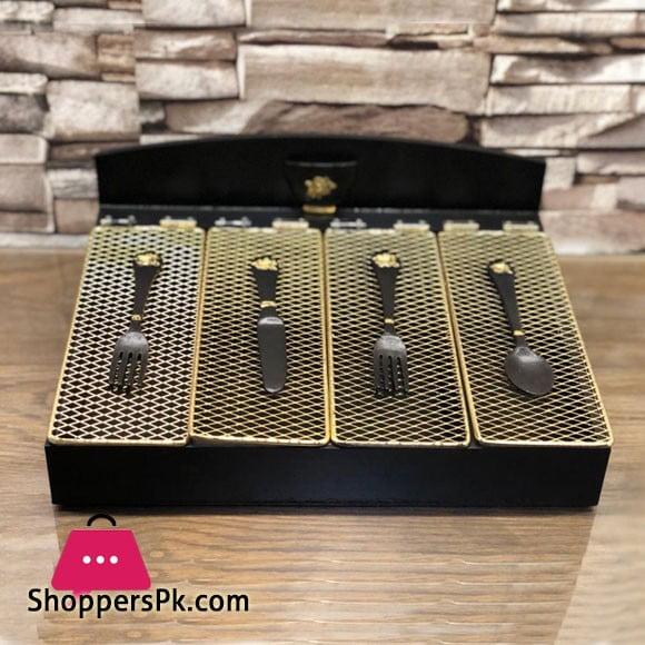 Stylish Cutlury Box Wood 009-65