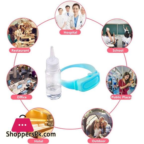 Wristband Hand Sanitizer Dispenser