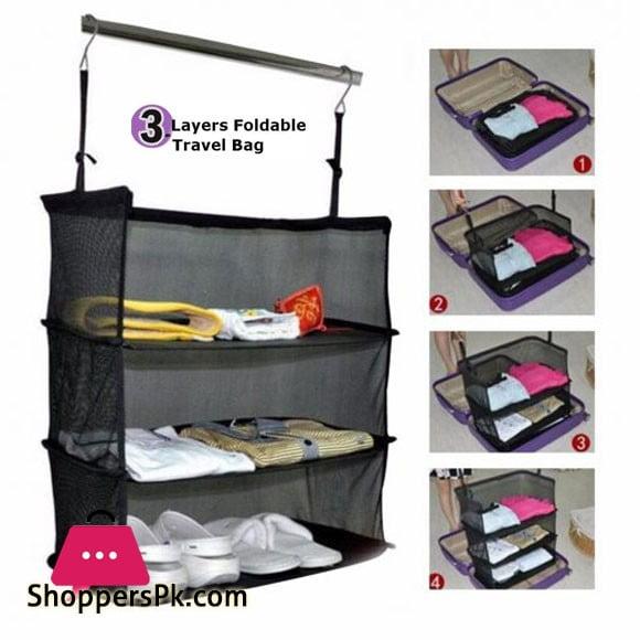 3 Layers Foldable Travel Bag